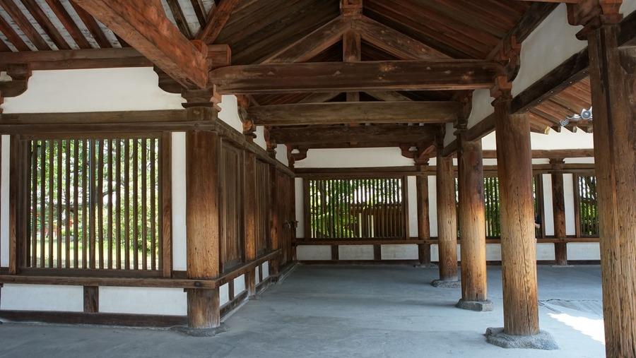 鎌倉時代の廻廊