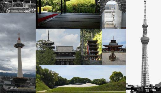 古建築から現代建築まで時代順にみれるブログ 日本建築まとめ(随時更新)