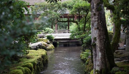 河合神社から糺の森そして下鴨神社・上賀茂神社